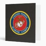 Marine Corps Seal 1 Binder