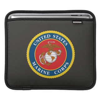 Marine Corps Seal 1 iPad Sleeve