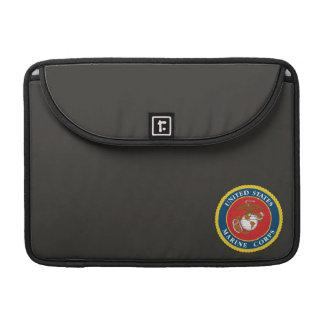 Marine Corps Seal 1 MacBook Pro Sleeves