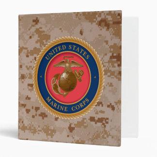 Marine Corps Seal 2 3 Ring Binder