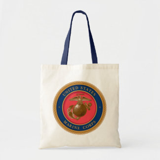 Marine Corps Seal 2 Budget Tote Bag