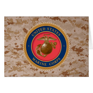 Marine Corps Seal 2 Card