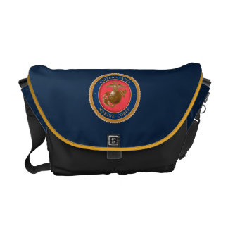 Marine Corps Seal 2 Courier Bag
