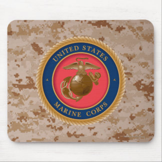 Marine Corps Seal 2 Mouse Pad