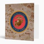 Marine Corps Seal 2 Vinyl Binders