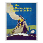 Marine Corps - Soldiers of the Sea! Print