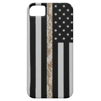 Marine Corps Thin Desert Camo Line Flag iPhone 5 iPhone SE/5/5s Case