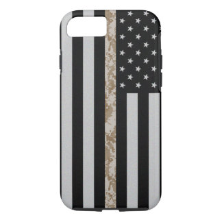 Marine Corps Thin Desert Camo Line Flag iPhone 7 iPhone 7 Case