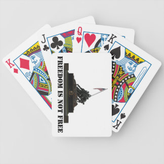 Marine Corps War Memorial Playing Cards Bicycle Playing Cards