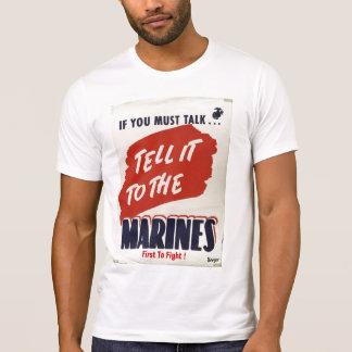 Marine Corps WWII type t-shirt