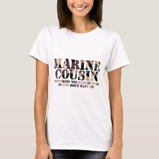 Marine Cousin Answering Call T-Shirt