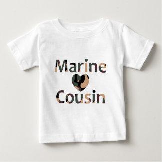 Marine Cousin Heart Camo Baby T-Shirt