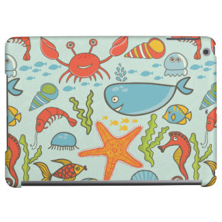 Marine Creature Pattern iPad Air Covers