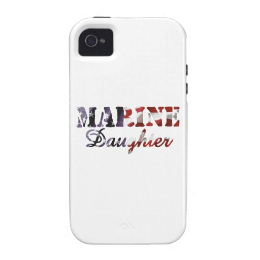 Marine Daughter American Flag Case For The iPhone 4