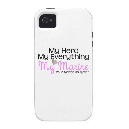 Marine Daughter Hero Case-Mate iPhone 4 Cases