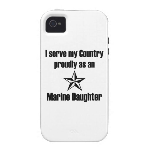 Marine Daughter Serve Country Case For The iPhone 4