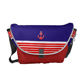 marine design messenger bag