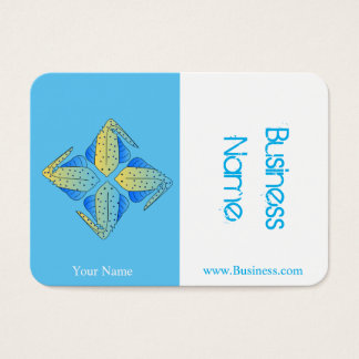 Marine Design with Rays Business Card