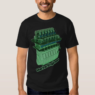 Marine Engineer (MAN) - Black T-shirt