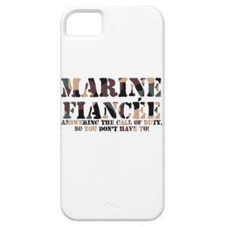 Marine Fiancee Answering Call iPhone 5 Covers
