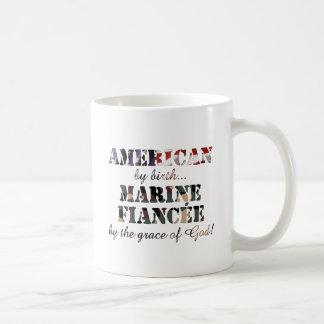 Marine Fiancee Grace of God Coffee Mug