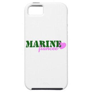 Marine Fiancee Green Heart iPhone 5 Covers