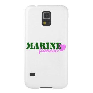 Marine Fiancee Green Heart Case For Galaxy S5