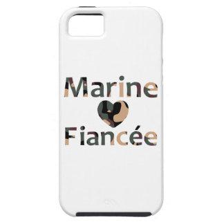 Marine Fiancee Heart Camo iPhone 5 Cases