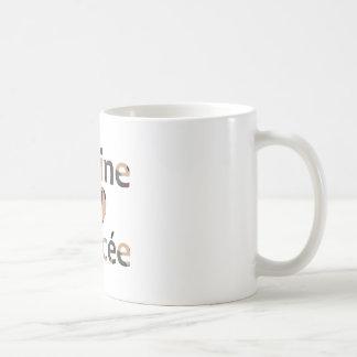 Marine Fiancee Heart Camo Coffee Mug