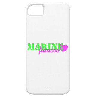 Marine Fiancee Lime Green iPhone 5 Cases