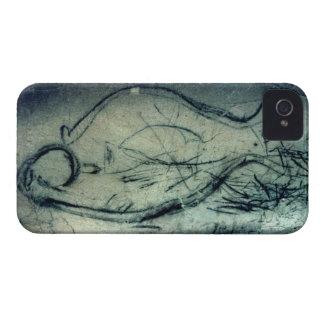 Marine figure, Palaeolithic Period (c.40000-12000 Case-Mate iPhone 4 Cases