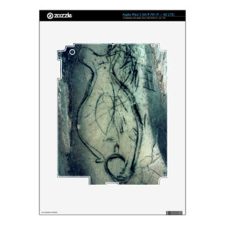 Marine figure, Palaeolithic Period (c.40000-12000 iPad 3 Decals
