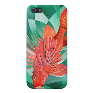 Marine Fire Fish or Lionfish iPhone SE/5/5s Cover