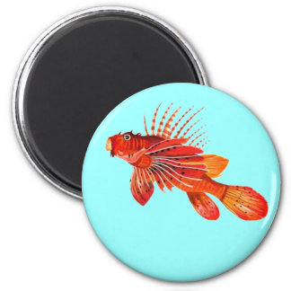 Marine Fire Fish or Lionfish Magnet