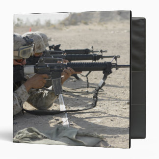 Marine fires their M16A2 service rifles Binder