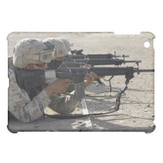 Marine fires their M16A2 service rifles iPad Mini Case