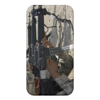 Marine fires their M16A2 service rifles iPhone 4/4S Covers