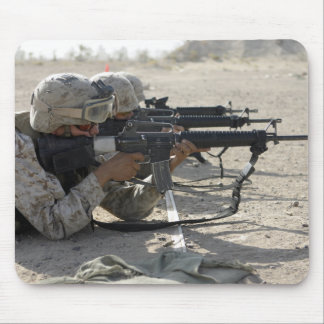 Marine fires their M16A2 service rifles Mouse Pad
