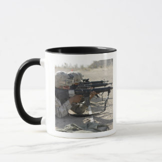 Marine fires their M16A2 service rifles Mug
