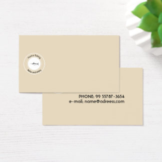 Marine fishing Relax and enjoy Business Card