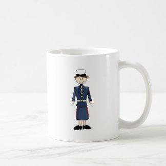 marine_girl coffee mug