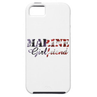 Marine Girlfriend American Flag iPhone SE/5/5s Case
