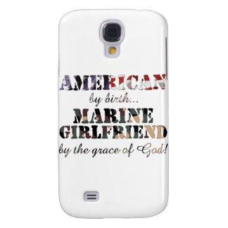 Marine Girlfriend Grace of God Samsung Galaxy S4 Cover