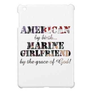 Marine Girlfriend Grace of God iPad Mini Case