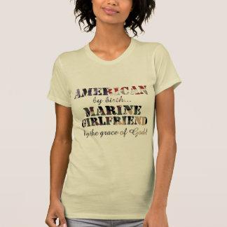 Marine Girlfriend Grace of God Tee Shirt