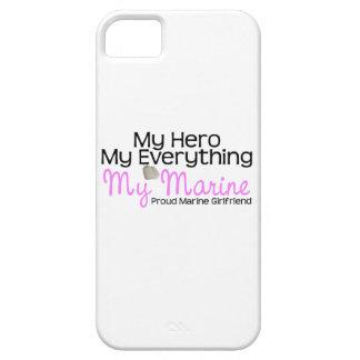 Marine Girlfriend My Hero iPhone 5 Covers