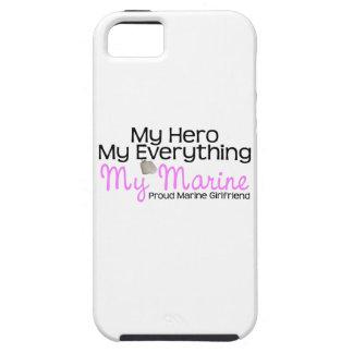 Marine Girlfriend My Hero iPhone 5 Case