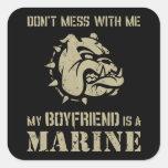 Marine Girlfriend Sticker