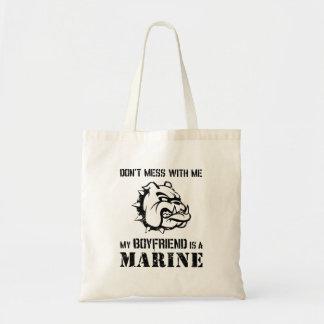 Marine Girlfriend Tote Bag