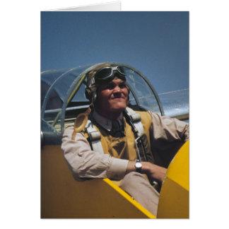 Marine Glider Pilot, 1942 Card